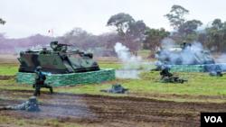 因应中国解放军威胁,台湾举行春节战备操演