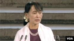 Lãnh tụ phong trào dân chủ Miến Điện Aung San Suu Kyi