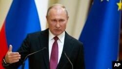 Predsjednik Rusije Vladimir Putin govori tokom