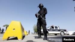 Un garde de protection du gouvernement d'unité de la Libye, à Tripoli, Libye 14 avril 2016. REUTERS / Ismail Zitouny.
