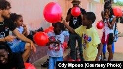 Crianças de São Tomé e Príncipe