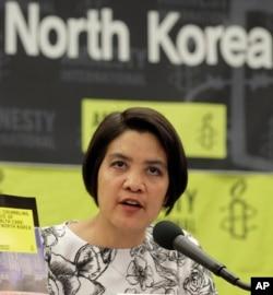 Periset dari Amnesty International, Norma Kang Muico (Foto: dok).