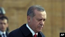 土耳其總統埃爾多安(資料圖片)