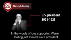 America's Presidents - Warren G. Harding