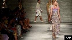Modna revija u Njujorku