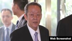 港澳办主任王光亚(苹果日报图片)