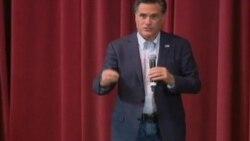 Mitt Romney'nin seçim kampanyasından görüntüler