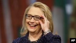 힐러리 클린턴 미국 국무장관. (자료사진)