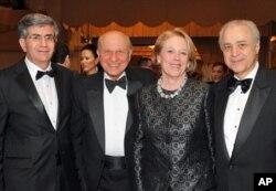 Παύλος Αναστασιάδης, Ευγένιος Ρωσίδης, Νίκη Τσόνγκα και Βασίλης Κασκαρέλης