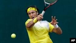 Juan Monaco dari Argentina menang mudah dan maju ke perempat final Swiss Terbuka (foto: dok).