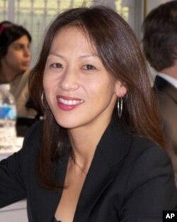 蔡美儿在2007年德克萨斯图书节