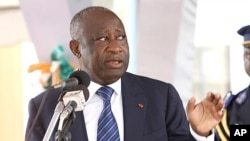 Ivory Coast's incumbent President Laurent Gbagbo (file photo)