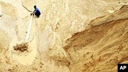 中国的稀土矿场(资料照片)