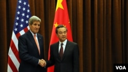 克里国务卿2015年访华