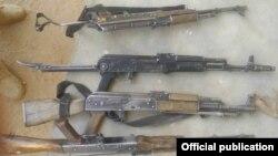 De nombreuses armes ont été saisies lors de cette offensive contre Boko Haram.