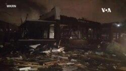 美國田納西州週二凌晨被龍捲風吹襲至少五人死亡
