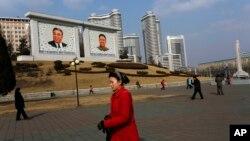 북한 평양 시가지 (자료사진)