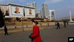 러시아의 북핵 6자회담 차석대표인 그리고리 로그비노프 외무부 북핵 담당 특별대사가 10일 방북 일정을 마치고 러시아로 돌아갔다. 사진은 지난 달 20일 북한 평양 거리. (자료사진)