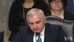 里德参议员称中国非负责任大国原声视频 (美国国会视频)