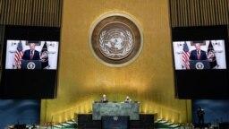 Під час промови на Генасамблеї ООН президент Трамп розкритикував Китай. Відео