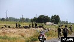 وہ مقام جہاں باغیوں نے بس پر بم حملہ کیا