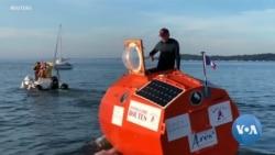 Frenchman Begins Cross-Atlantic Voyage in a Barrel