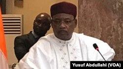 Shugaban Jamhuriyar Niger Issoufou Mahammadou
