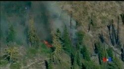 2014-07-20 美國之音視頻新聞: 美國西北部華盛頓州野火肆虐