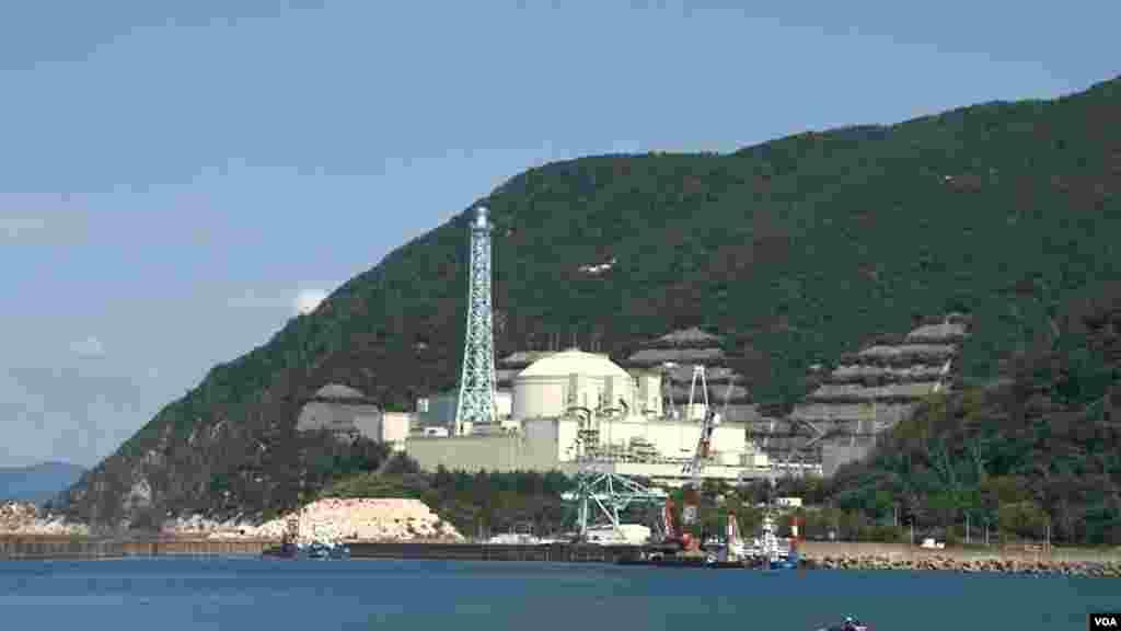 日本福井县敦贺城的文殊快中子增殖反应堆设施