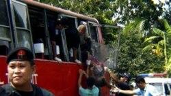 کشته شدن ۹ تن در انفجار بمب در اتوبوسی در فیلیپین