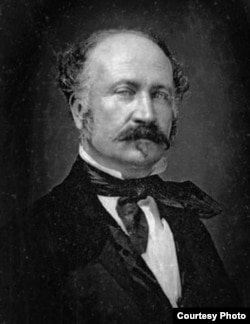 John Sutter looks like a prosperous businessman in this portrait, and that's how he thought of himself. But he died broke - and a broken man. (Online Archive of California)