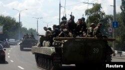 Proruski separatisti u Donjecku