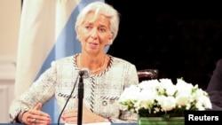 Глава Международного валютного фонда Кристин Лагард (архивное фото)