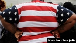 FILE: An overweight man in New York. A new study says by 2030 half of Americans will be obese.