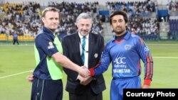 کپتان تیم های افغانستان و آیرلند با حکم رقابت