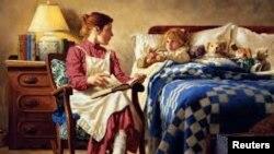 بچوں کو کہانی سنانا