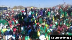 President Mnangagwa Rally