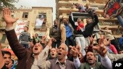 埃及反軍人統治示威依然繼續