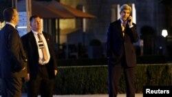جان کری شنبه شب به خبرنگاران گفت شاهد اختلاف نظرها و تنش هایی در گفت و گوها بودیم اما افکار جدیدی هم در آن مطرح شد.