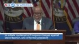 VOA60 America - US House January 6 Inquiry Votes to Hold Bannon in Contempt