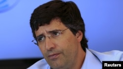 Andre Esteves, former CEO of BTG Pactual SA bank, is pictured during an interview in Sao Paulo, July 22, 2014.