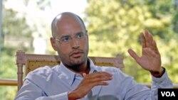Saif al-Islam, putera Moammar Gaddafi, bertekad akan terus berperang hingga mati (31/8).