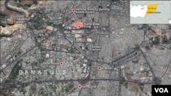 Location of Dama Rose Hotel