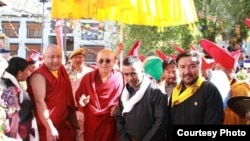 Drikhung Chetsang Rinpoche Visits Several Buddhist Pilgrim Sites