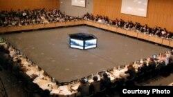 지난 2012년 2월 열린 자금세탁방지 국제기구 총회. FATF 제공. (자료사진)