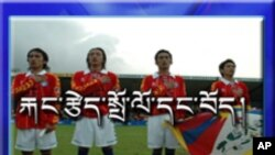 World Cup Football and Tibetans