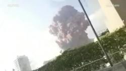 Џиновска експлозија го потресе Бејрут