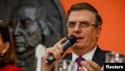 د مکسیکو د بهرنیو چارو وزیر مارسیلو ابرادد