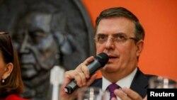 墨西哥外交部长马塞洛·埃布拉德