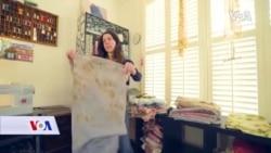SAD: Izrada šalova od organskih materijala i boja